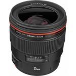 Canon 35mm 1.4L Lens